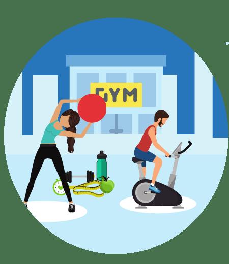 Gym process image